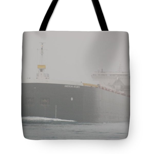 Frieghter Close Up Tote Bag by Randy J Heath