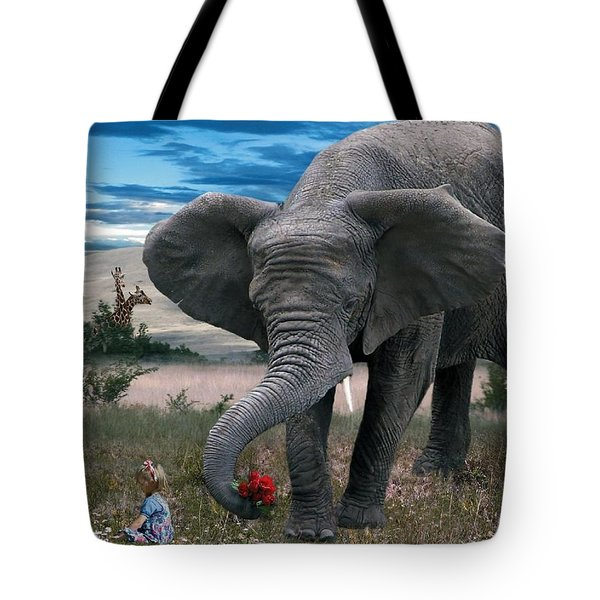 Friends Tote Bag by Bill Stephens