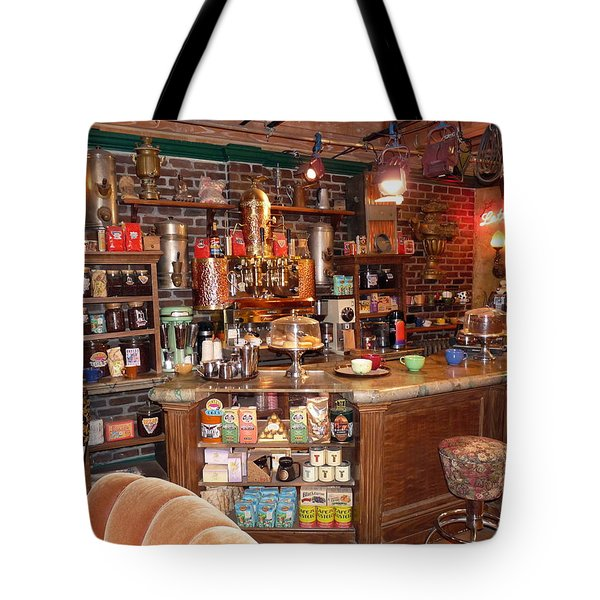 Friends Tv Show Set Tote Bag by Jeff Lowe