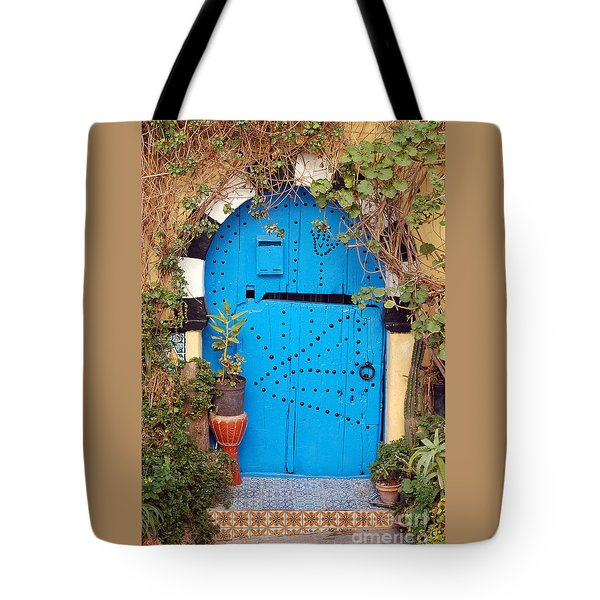 Tote Bag featuring the photograph Friendship Door by Eva Kaufman