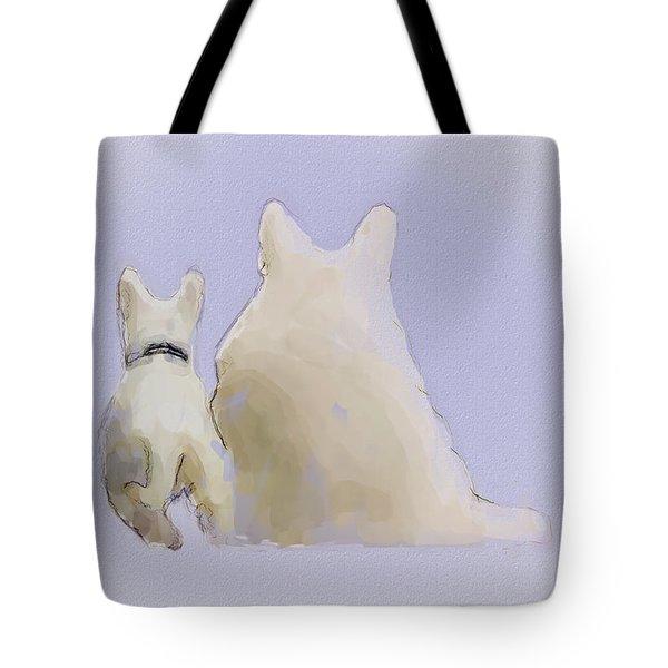 Friendship Tote Bag by Ron Jones