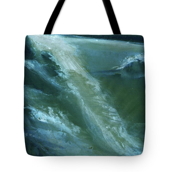 From Darkness To Light Tote Bag by Anil Nene