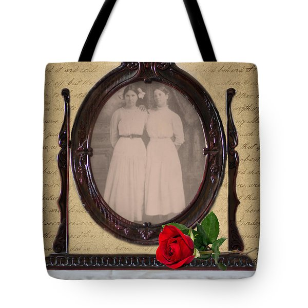 From The Past Tote Bag by Betty LaRue