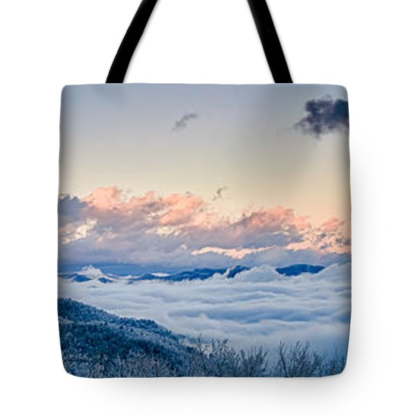 Tote Bag featuring the photograph Frosty Morning by Joye Ardyn Durham