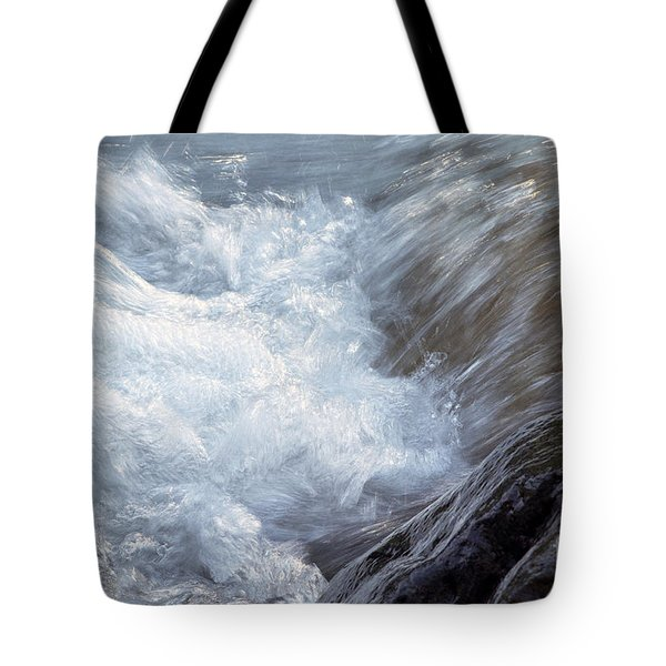 Froth Tote Bag by Sharon Talson