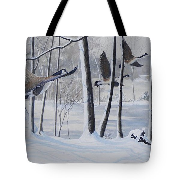 Frozen Over  Sold Prints Available Tote Bag
