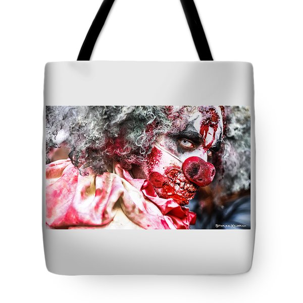 Frozen Tremors Tote Bag