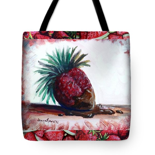 Fruit Fusion Tote Bag by Shana Rowe Jackson