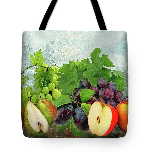 Fruit Garden Tote Bag by Manfred Lutzius