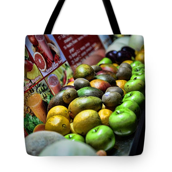 Fruit Stand Tote Bag by Paul Ward