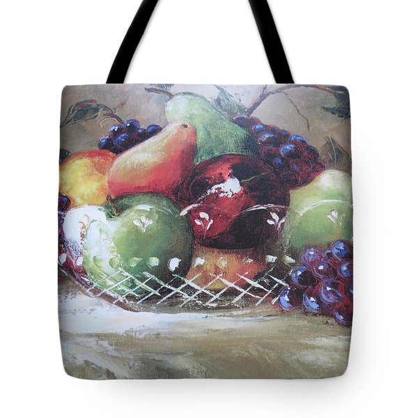 Fruit Still-life  Tote Bag by Kay Novy