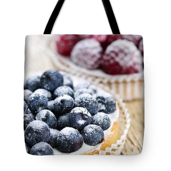 Fruit Tarts Tote Bag