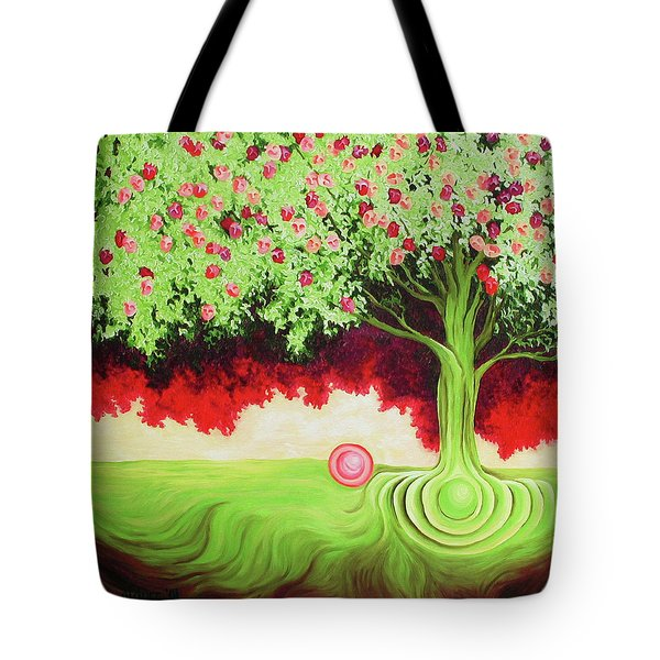 Fruit Tree Tote Bag