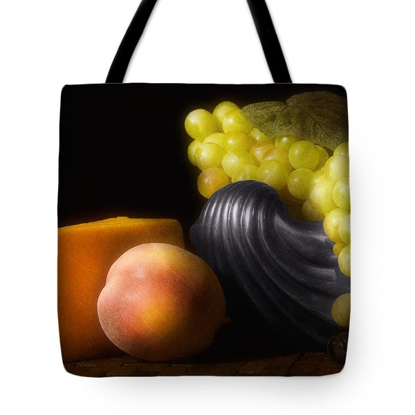 Fruit With Cheese Tote Bag by Tom Mc Nemar