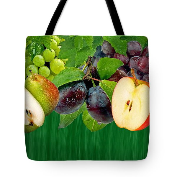 Fruits Tote Bag by Manfred Lutzius