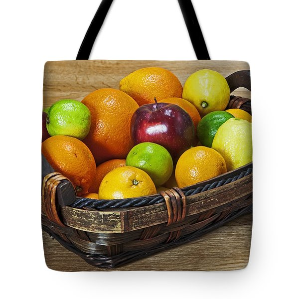 fruits with vitamin C Tote Bag by Joana Kruse