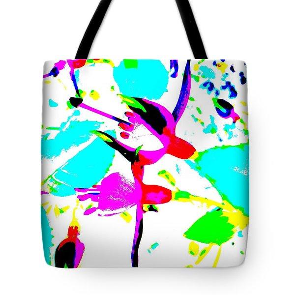 Fuchsia Tote Bag by Barbara Moignard