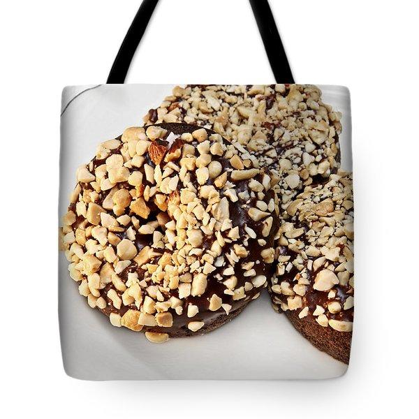 Fudge Nut Delights Tote Bag by Andee Design