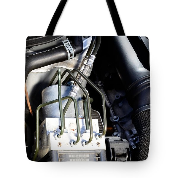 Fuel Injection System Tote Bag by Photo Researchers
