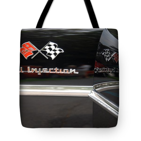 Tote Bag featuring the photograph Fuel Injection X 2 by John Schneider