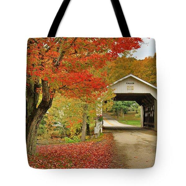 Fuller Bridge Tote Bag by Deborah Benoit