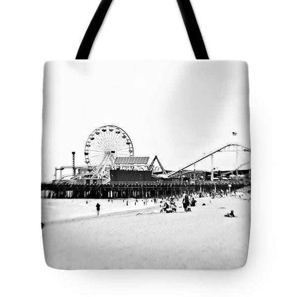 Fun At The Beach Tote Bag by Scott Pellegrin