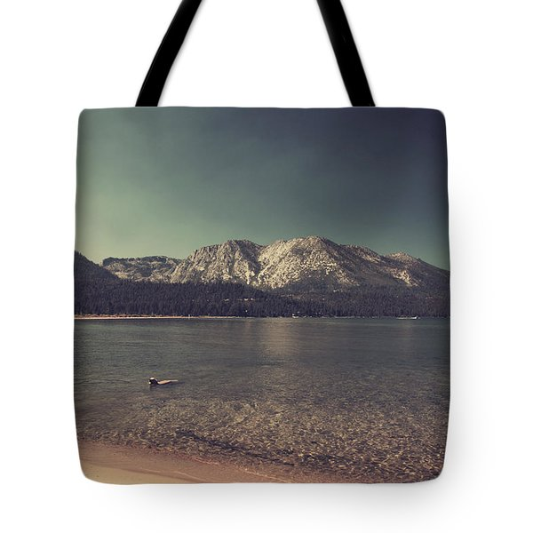 Fun At The Lake Tote Bag by Laurie Search