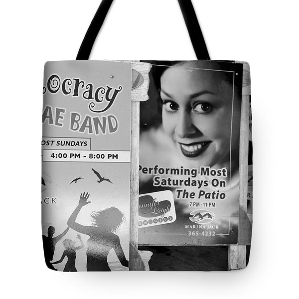 Tote Bag featuring the photograph Fun At The Marina by Janie Johnson