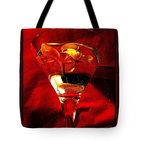 Fun In A Glass Tote Bag by Kaye Menner
