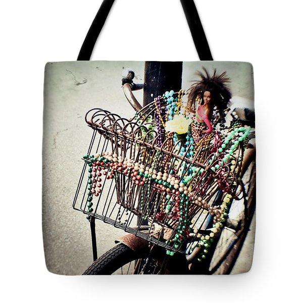 Funky Ride 2 Tote Bag by Scott Pellegrin