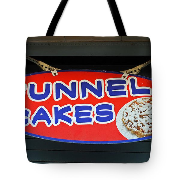 Funnel Cakes Tote Bag by Skip Willits