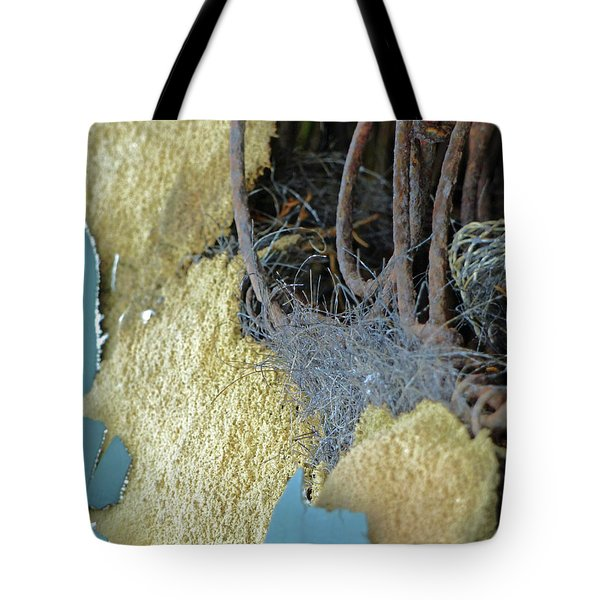 Tote Bag featuring the photograph Fuzzy Notion by Newel Hunter