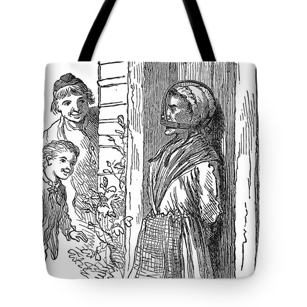 Gagged Scold, 17th Century Tote Bag