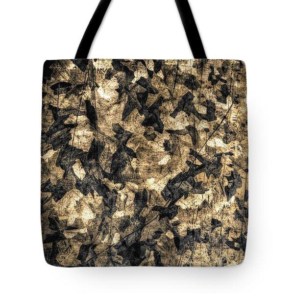 Galvanized Tote Bag by Michael Garyet