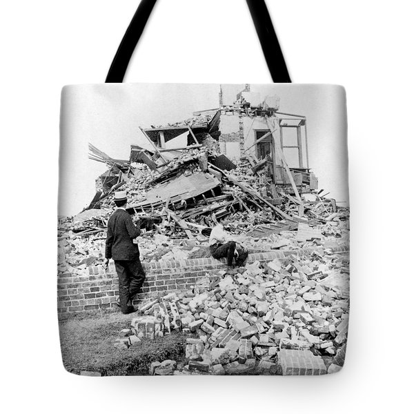Galveston Flood Damage - September - 1900 Tote Bag by International  Images