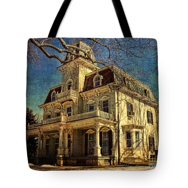 Gambrill Mansion Tote Bag by Lianne Schneider