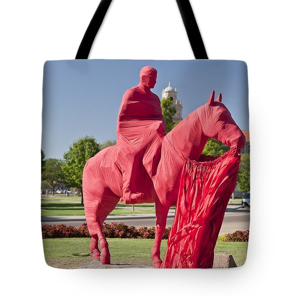 Game Day At Texas Tech Tote Bag