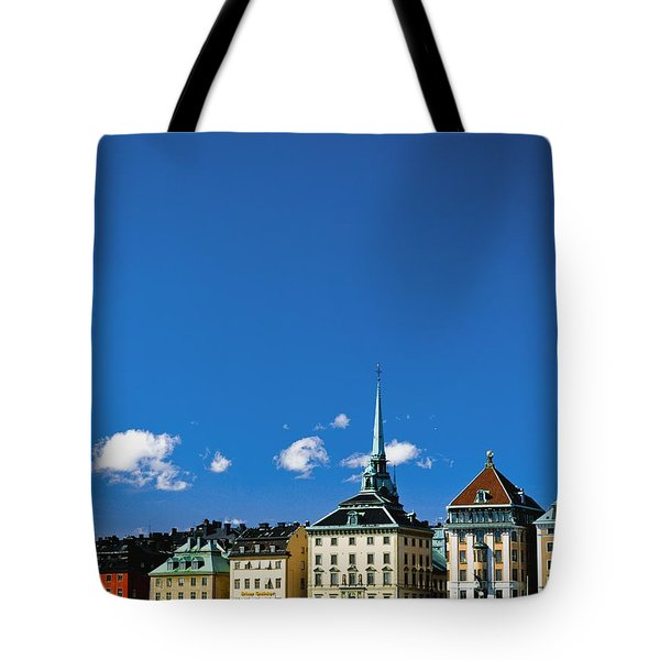Gamia Stan Main Square Tote Bag by Axiom Photographic