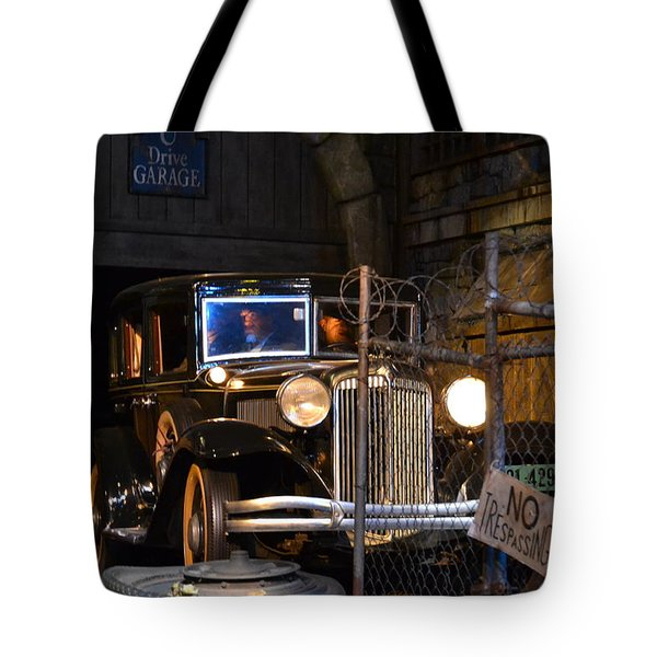 Gangsters Tote Bag