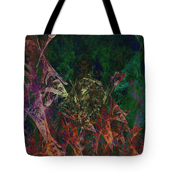 Garden Of Color Tote Bag by Christopher Gaston