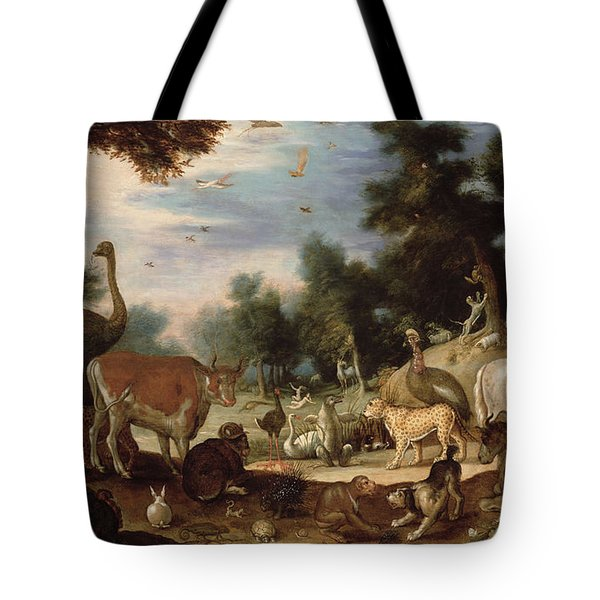 Garden Of Eden Tote Bag by Jacob Bouttats