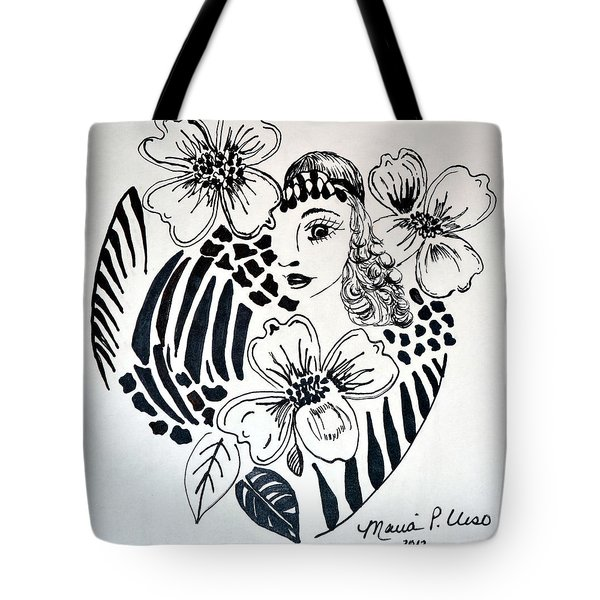 Garden Of Eve Tote Bag by Maria Urso