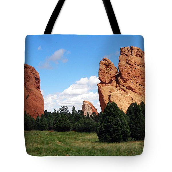 Tote Bag featuring the photograph Garden Of The Gods by David Pantuso