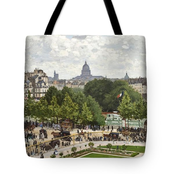 Garden Of The Princess Tote Bag by Claude Monet