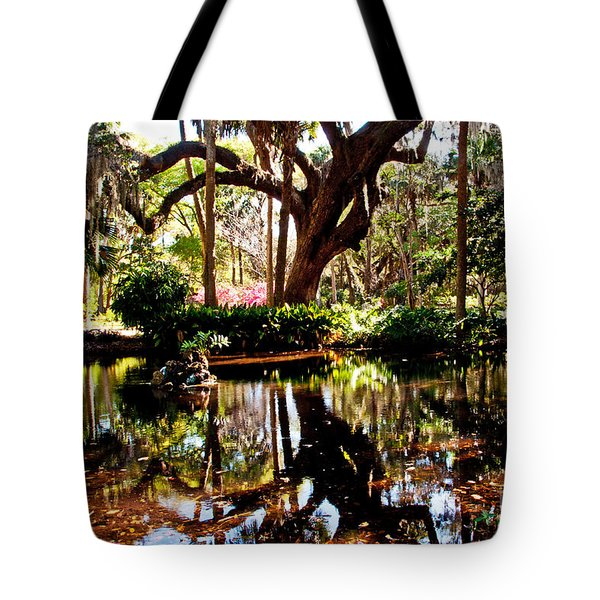 Garden Reflections Tote Bag by Bob and Nancy Kendrick