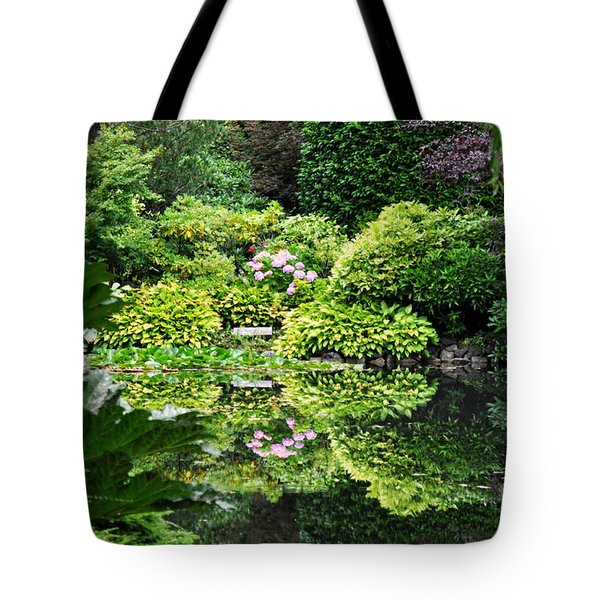 Garden Tapestry 2 Tote Bag by Tanya  Searcy