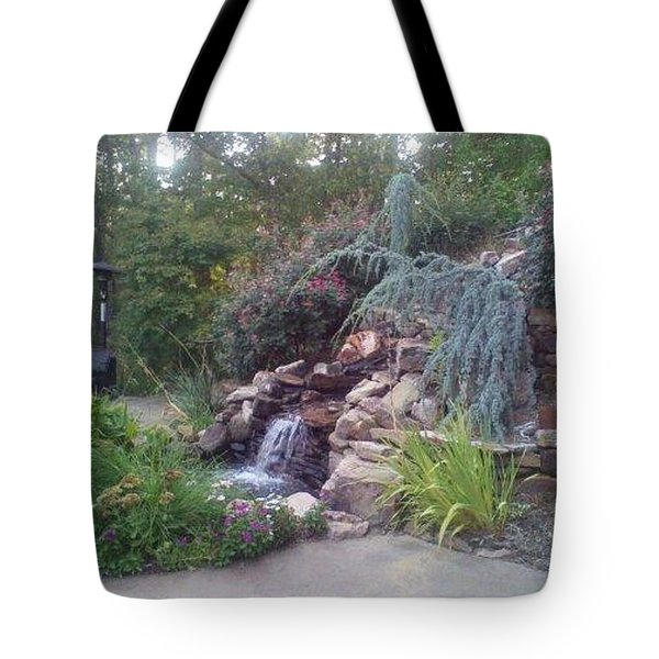 Garden View Tote Bag
