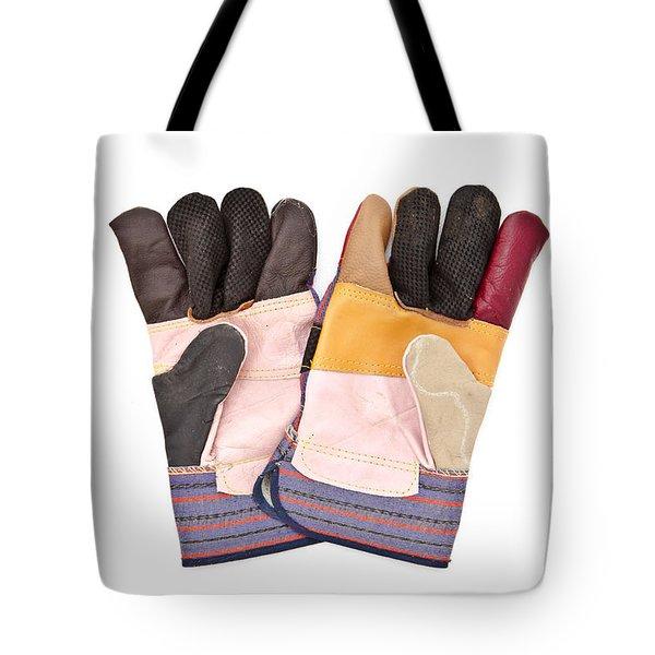 Gardening Gloves Tote Bag by Tom Gowanlock