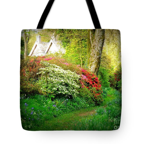 Gardens Of The Old Rectory Tote Bag