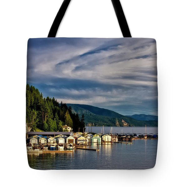 Tote Bag featuring the photograph Garfield Bay by Albert Seger